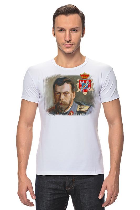 Футболка Стрэйч Printio Последний император россии последний патрон
