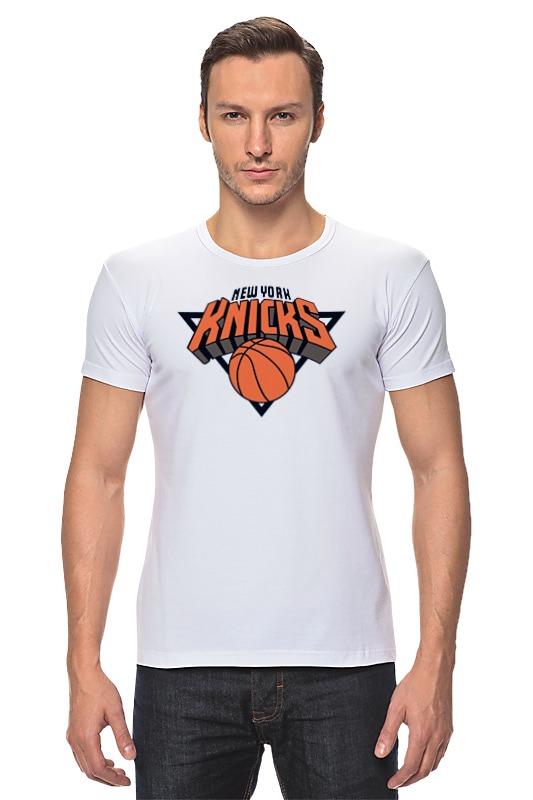 Футболка Стрэйч Printio Нью-йорк никс футболка с полной запечаткой printio нью йорк никс