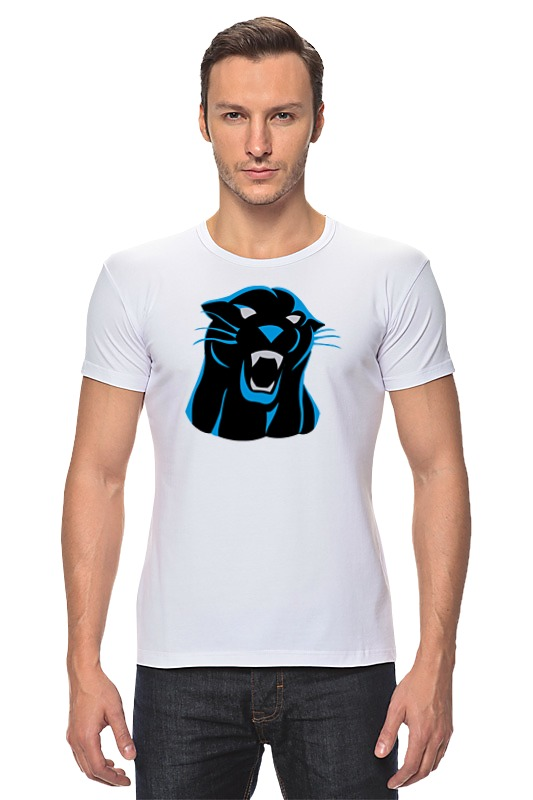 Футболка Стрэйч Printio Черная пантера сумка printio черная пантера
