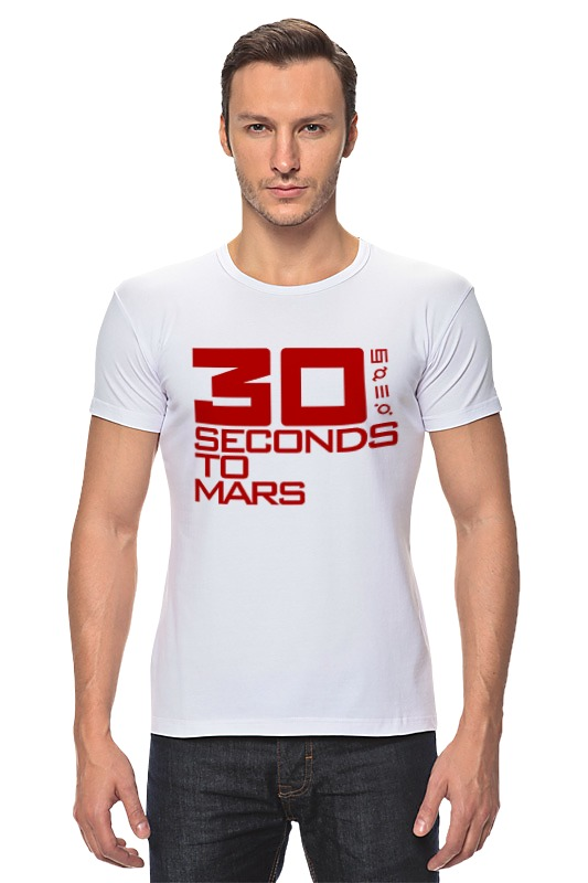 Футболка Стрэйч Printio 30 seconds to mars футболка стрэйч printio city of angels 30 seconds to mars