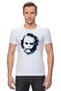 "Футболка Стрэйч (Мужская) ""Джокер / Joker"" - joker, джокер, бетман, клокун"