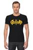 """Футболка Стрэйч (Мужская) """"Бэтмен, (Batman)"""" - batman, бэтмен"""