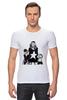 "Футболка Стрэйч (Мужская) ""Madonna"" - музыка, мода, madonna, мадонна"