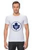 "Футболка Стрэйч (Мужская) ""Торонто Мэйпл Лифс "" - хоккей, nhl, нхл, toronto maple leafs, торонто мэйпл лифс"