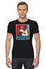 """Футболка Стрэйч """"Угрюмый кот"""" - мем, постер, grumpy cat, сердитый котик, угрюмый кот"""