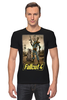 "Футболка Стрэйч (Мужская) ""Fallout 4"" - games, fallout, bethesda, fallout 4"