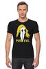 """Футболка Стрэйч (Мужская) """"Pure Evil"""" - граффити, дизайн, винтаж, pure evil"""