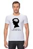 "Футболка Стрэйч ""Шерлок Холмс (Sherlock Holmes)"" - sexy, шерлок, ум, brainy, 221b"