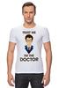 """Футболка Стрэйч """"Doctor Who """" - doctor who, tardis, доктор кто, теннант, тардис, ho"""