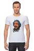 "Футболка Стрэйч (Мужская) ""Эйнштейн"" - science, наука, einstein"
