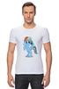 """Футболка Стрэйч (Мужская) """"Рэйнбоу Дэш"""" - рисунок, pony, rainbow dash, mlp, пони"""