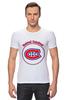 "Футболка Стрэйч (Мужская) ""Montreal Canadiens"" - хоккей, nhl, нхл, montreal canadiens, монреаль канадиенс"
