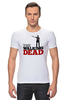 "Футболка Стрэйч (Мужская) ""The Walking Dead"" - зомби, ходячие мертвецы, the walking dead, рик граймс, rick grimes"
