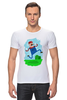"Футболка Стрэйч (Мужская) ""Марио (Mario)"" - nintendo, mario, марио"