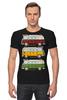 """Футболка Стрэйч (Мужская) """"Светофор"""" - авто, pixel, автомобиль, путешествие, travel, пиксель арт, pixel art, пиксель-арт, rome, paris"""