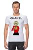 """Футболка Стрэйч """"Chanel"""" - прикол, юмор, духи, fashion, perfume"""