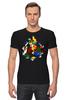 "Футболка Стрэйч ""Кубик Рубика"" - головоломка, абстракция, кубик рубика"