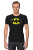 """Футболка Стрэйч """"Бэтмен"""" - комиксы, batman, бэтмен, марвел"""