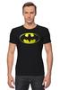 "Футболка Стрэйч (Мужская) ""Бэтмен"" - комиксы, batman, бэтмен, марвел"