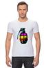 """Футболка Стрэйч (Мужская) """"Color Grenade """" - рисунок, grenade, граната, colorful, лимонка"""