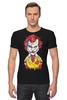 """Футболка Стрэйч """"Джокер МакДональд"""" - joker, пародия, batman, джокер, mcdonalds"""