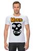 "Футболка Стрэйч ""Misfits "" - punk rock, misfits, панк, anarchy, анархия"