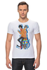 "Футболка Стрэйч ""Nyan Cat & Tac Nayn T-shirt"" - cat, nyan, nyancat, tacnayn"