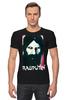 "Футболка Стрэйч ""Rasputin"" - россия, russia, imperia, распутин, rasputin"
