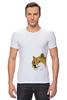 """Футболка Стрэйч (Мужская) """"Doge WOW!"""" - интернет, мем, wow, doge, собакен"""