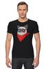 "Футболка Стрэйч ""Сердитый котик в 3D "" - grumpy cat, тард, сердитый котик"
