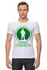 """Футболка Стрэйч """"Вежливая планета"""" - армия, россия, логотип, вежливые люди, ратник"""