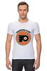 "Футболка Стрэйч (Мужская) ""Philadelphia Flyers"" - спорт, хоккей, nhl, нхл, филадельфия флайерз"