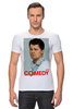 "Футболка Стрэйч (Мужская) ""Comedy Club"" - шоу, comedy club, гарик бульдог харламов, гарик харламов, телешоу"