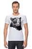 "Футболка Стрэйч (Мужская) ""Медведь"" - bear, медведь"