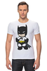 """Футболка Стрэйч (Мужская) """"Batman"""" - batman, бэтмен"""