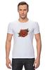 "Футболка Стрэйч (Мужская) ""Tattoo rose"" - tattoo, роза, татуировка, тату"