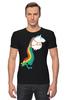 "Футболка Стрэйч ""Единорог"" - радуга, пони, rainbow, единорог"