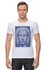 "Футболка Стрэйч (Мужская) ""The Icon"" - арт, портрет, russia, мозаика, путин, президент, putin, president, икона, the icon"