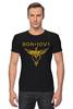 "Футболка Стрэйч (Мужская) ""Bon Jovi"" - bon jovi"