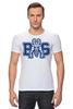 """Футболка Стрэйч """"Реальные Парни (Blue Mountain State) BMS"""" - сериал, американский футбол, american football, реальные парни"""