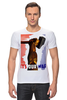 "Футболка Стрэйч ""молот"" - арт, авторские майки, рука, патриотизм, флаг, молот, рабочий, серп, битва"