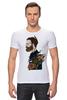 """Футболка Стрэйч (Мужская) """"Бородач"""" - парень, необычно, борода, beard"""