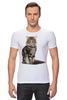 """Футболка Стрэйч (Мужская) """"Милый пушистый кот     """" - кот, кошка, котэ, алина макарова, мэйн кун"""