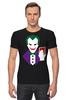"""Футболка Стрэйч (Мужская) """"Джокер (Joker)"""" - joker, джокер"""