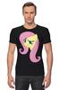 "Футболка Стрэйч ""Fluttershy Appoved"" - арт, pony, mlp, пони, fluttershy"