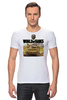 "Футболка Стрэйч (Мужская) ""World Of Tanks"" - игра, game, world of tanks, танки, wot"