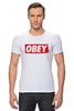 "Футболка Стрэйч (Мужская) ""swag swag"" - swag, obey"