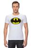 """Футболка Стрэйч (Мужская) """"Бэтман"""" - batman, супергерой, бэтман"""