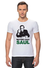 "Футболка Стрэйч ""Better call Saul"" - во все тяжкие, breaking bad, better call saul, лучше звоните солу, сол гудман"