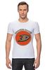 "Футболка Стрэйч (Мужская) ""Anaheim Ducks"" - спорт, хоккей, nhl, нхл, anaheim ducks"